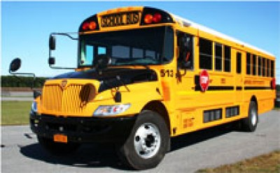44 passenger loaded School Bus